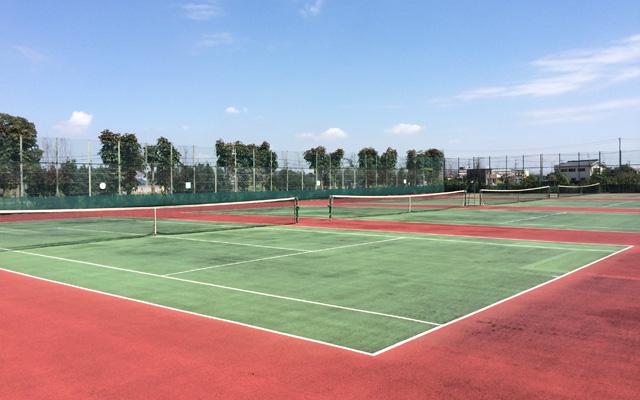 桜田運動公園テニスコート – 久...